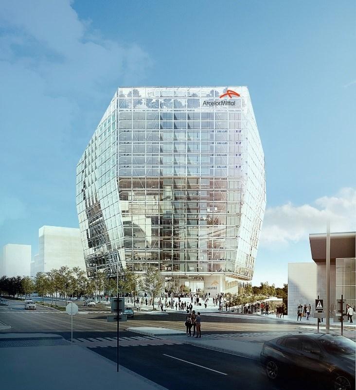 دفتر شرکت آرسلور میتال